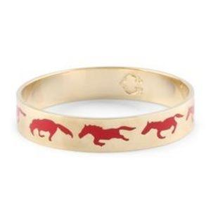 C Wonder Running Horse Bangle Bracelet